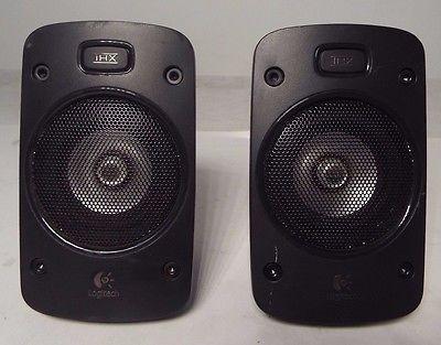 Lot of 2, Logitech Z906  Front/Rear Satellite Speakers