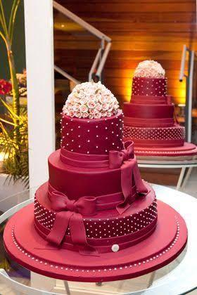 Resultado de imagem para bolo lilas e rosa 15 anos