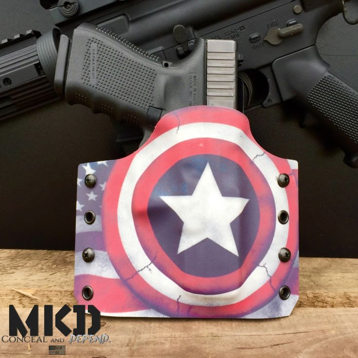 The Captain premium Custom Kydex Holster. For a Glock 19/23/32. Get it now.