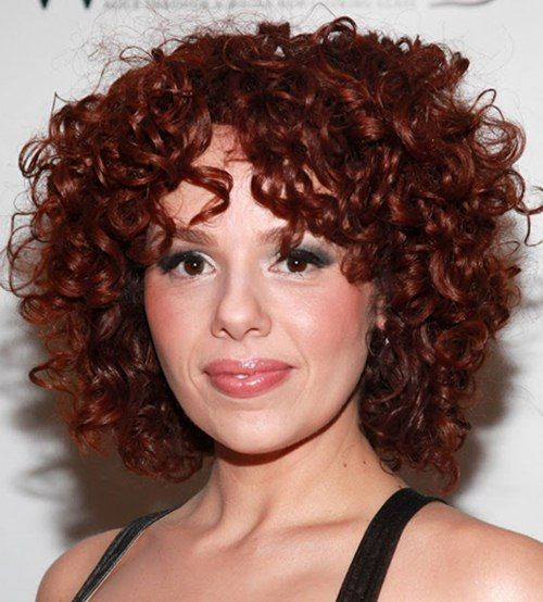 Hairstyle For Curly Hair 8 Best Short Curly Hairstyles For Oval Faces Images On Pinterest