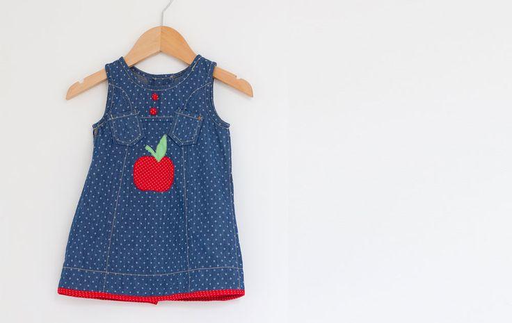 DIY : la robe Pomme dapi #DIY #craft #creative #gift #home #deco