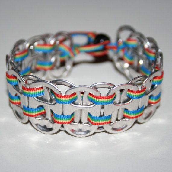 les 25 meilleures id es concernant bracelet de canette de soda sur pinterest bracelet avec. Black Bedroom Furniture Sets. Home Design Ideas