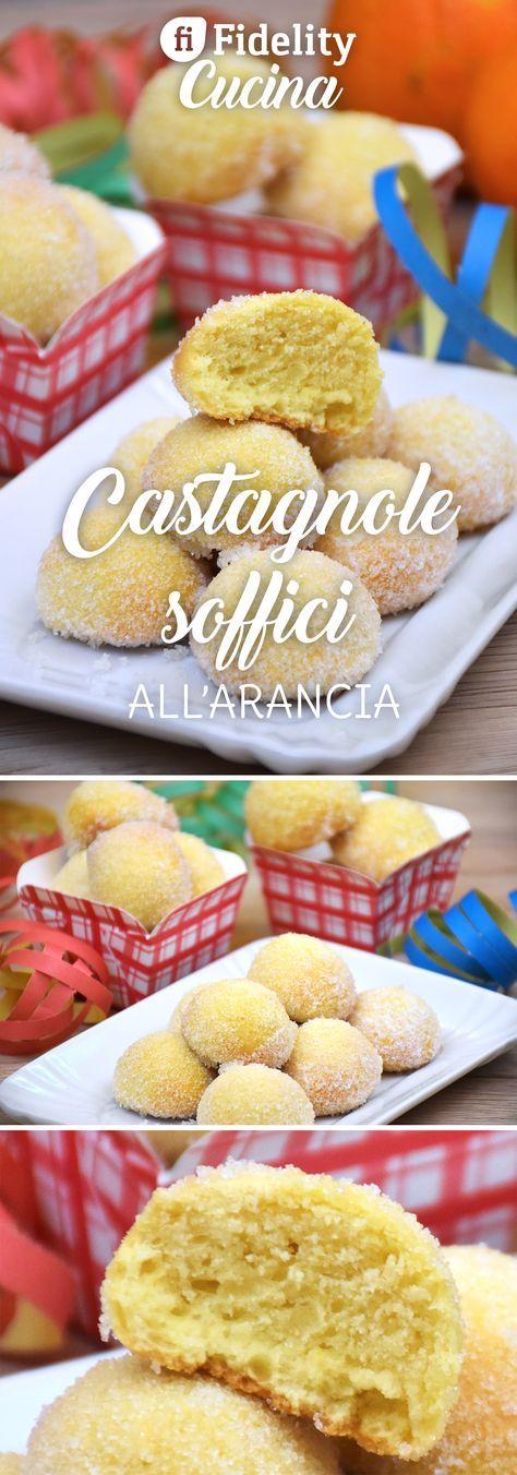 Le castagnole soffici all'arancia al forno sono una variante delle classiche castagnole fritte. Morbide e profumate saranno irresistibili. Ecco la ricetta