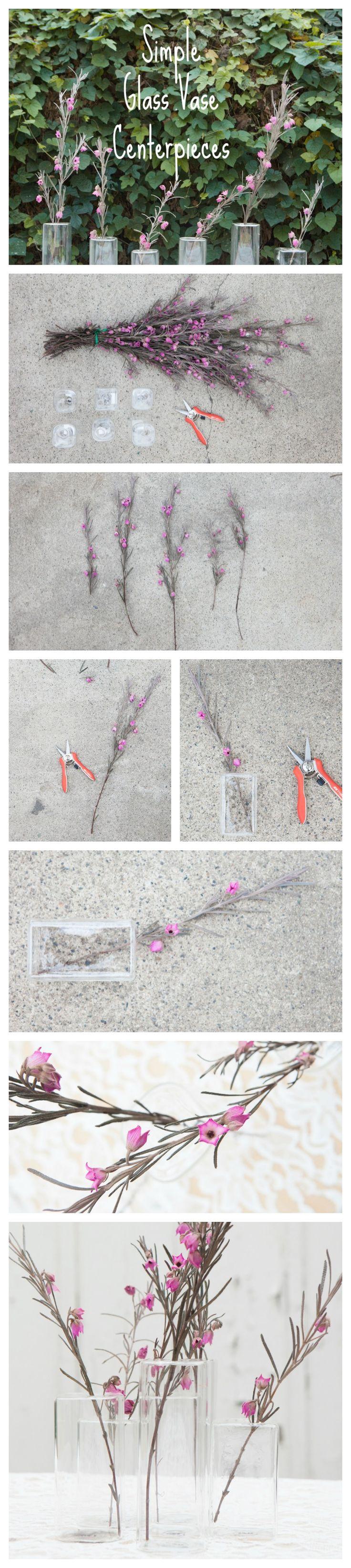 #DIY Minimalist Wedding Centerpieces