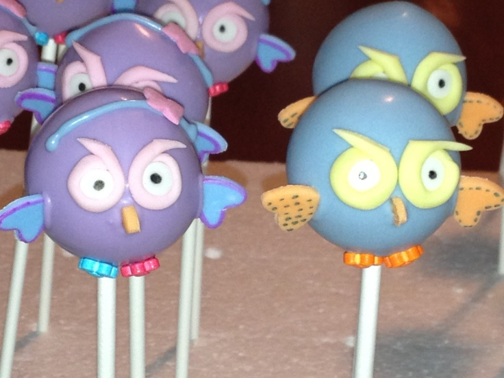 Hoot and Hootabelle Pops by PopTreats