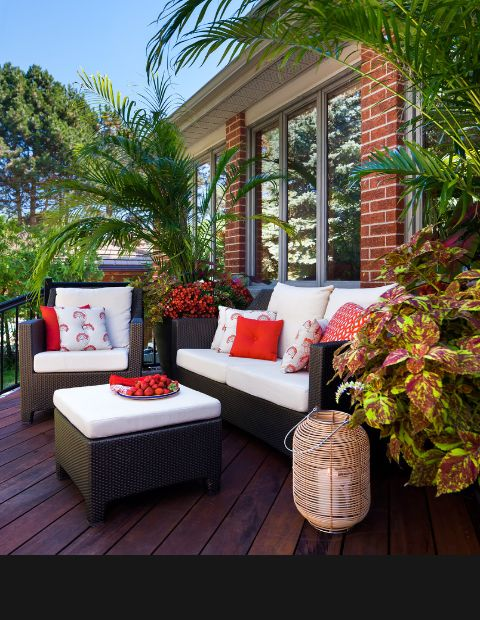 by Terra Firma Design Red Terrace