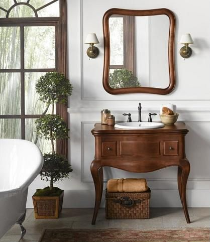 queen anne legs or what to look for in an antique bathroom vanity - Antique Bathroom Vanity