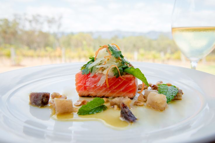 Dining at Spicers Vineyard Estate