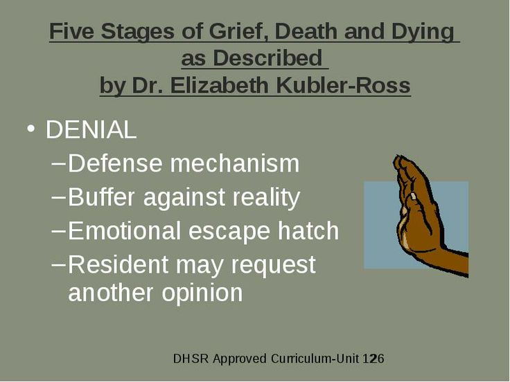 grief death and the psychology of dying Whether an individual copes with a significant loss or death in a positive and constructive rather than in a  guilt feelings are frequently a part of the grief.