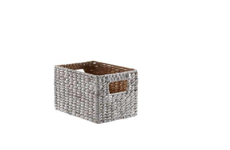 Rechthoekige mand white Albenga | Voor meer informatie en diverse maten kijkt u op www.prontowonen.nl #ProntoWonen #woonaccessoires #interieur #inspiratie #woonkamer