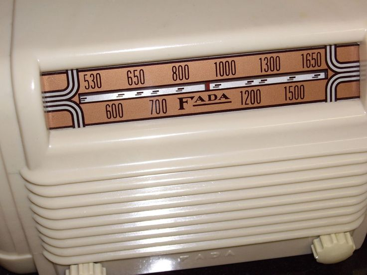 """New Antique Radio 1946 Fada NOS New Old Stock """"TWO HOURS OLD!"""" Rarest Vintage  #Fada"""