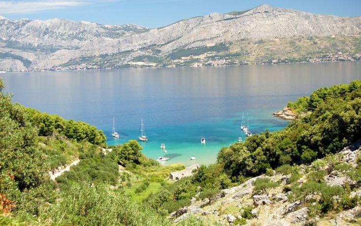 Brač on Kroatian saariston kolmanneksi suurin saari ja täydellinen paikka rentoutumiseen. www.apollomatkat.fi #Brac #Kroatia