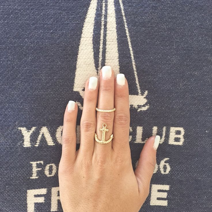 Yacht club inspiration #allwhite #nails