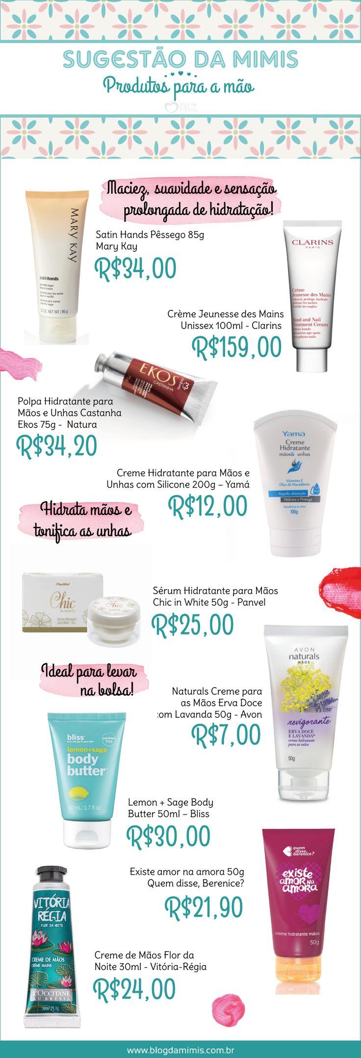 Top list: produtos incríveis para manter as mãos bonitas e hidratadas - Blog da Mimis #mãos #hidratação #beauty #cosméticos #beleza #produtos