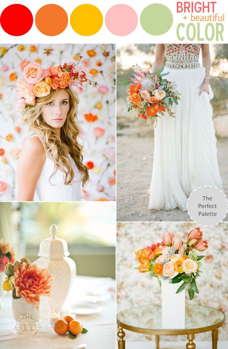 5 Swoon-Worthy Color Schemes for Summer - www.theperfectpalette.com - Color Ideas for Weddings + Parties