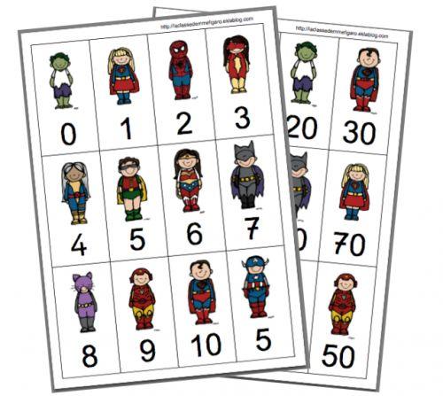 Super-héros des compléments à 10 et 100 - La classe de Mme Figaro