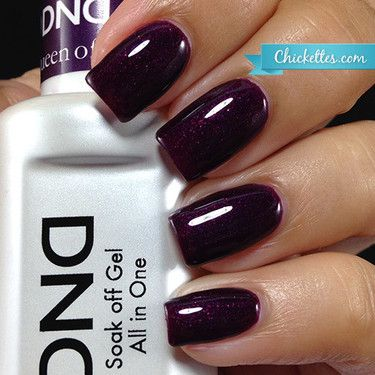 NEW FORMULA! Daisy Gel Polish Queen of Grape 1479. Dark purple with slightly red shimmer. Size 0.5 oz/15ml. Free matching nail polish. FREE US standard shipping for order $99+.
