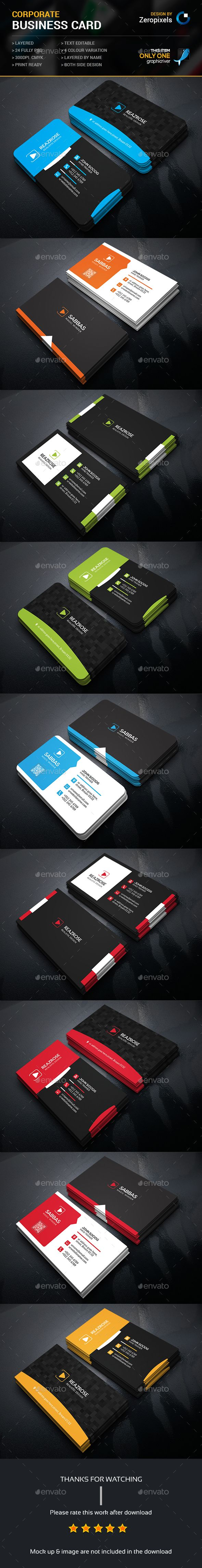 Business Card Bundle Templates PSD. Download here…