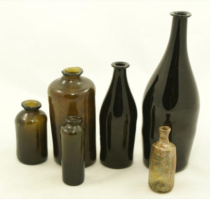 18 best bottles flessen images on pinterest decorated for Vase antique romain