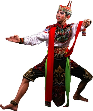 Remo Dance    Remo dance is originating from Jombang regency, East Java. At early begin, this dance was used as an opening show before Ludruk show. In times, this dance is practically performed as a welcome dance in special occasion like state ceremonies and local arts festival.