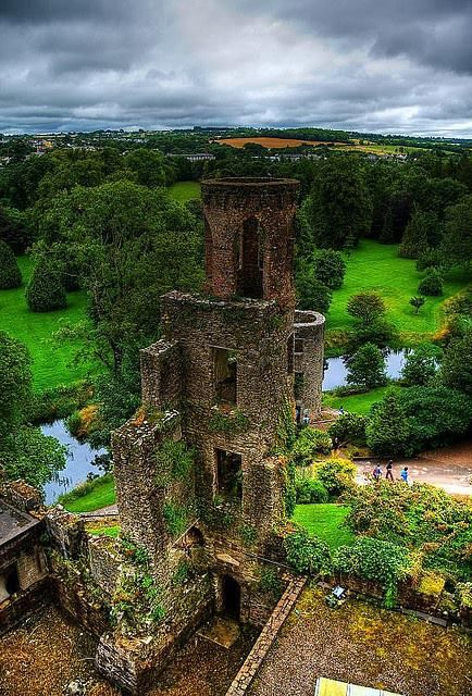 Blarney Castle, Cork, Ireland was founded in 1446 but its first construction refers to the 10th century.