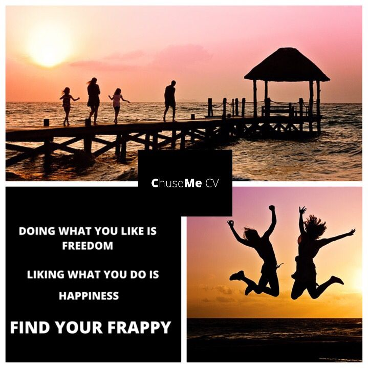 Find your inner Frappy #freedom #happiness #chusemecv