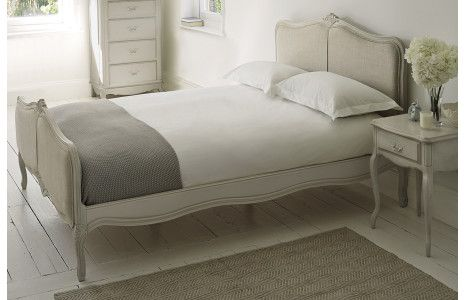 Provencale Bed Frame - Dove Grey King