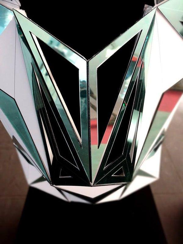 The Triangulators - FAB 10 Exhibition - Architectural Fashion