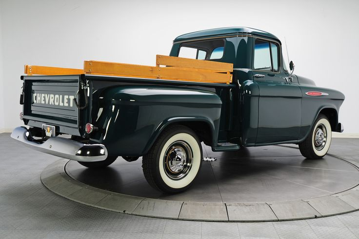 Dark Green 1957 Chevrolet 3100 | RK Motors Charlotte | Collector and Classic Cars