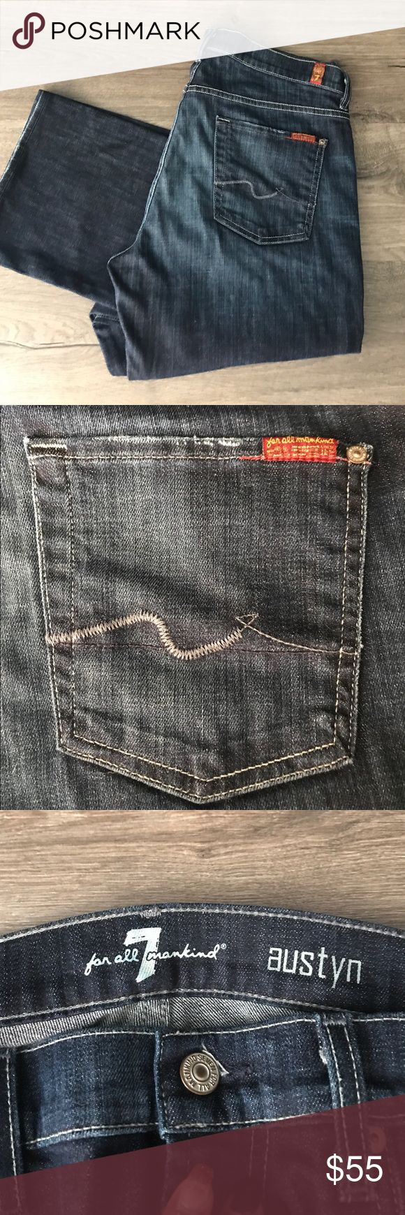 Seven Jeans Straight Leg MENS These Seven Jeans are like brand new. Worn 1 time. Soft and comfy. Straight leg for Men. Size 34 Seven Jeans Straight