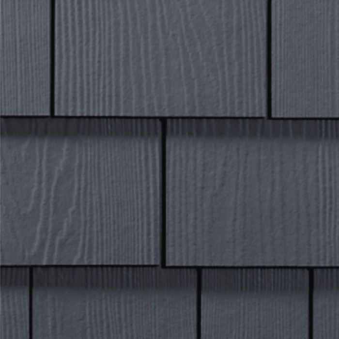 James Hardie Hardieshingle Straight Siding 15 25 X48 Deep Ocean 1pc Cedar Shake Siding Colors Cedar Vinyl Siding Shingle Siding