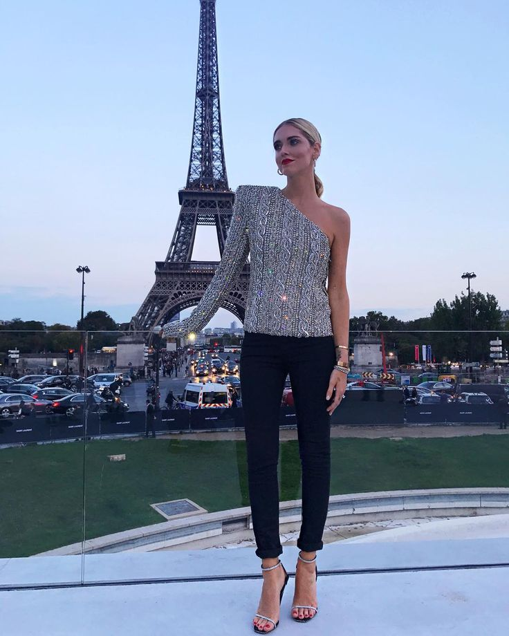 "228.6k Likes, 928 Comments - Chiara Ferragni (@chiaraferragni) on Instagram: ""What a dreamy location for @ysl show #TheBlondeSaladGoesToParis"""