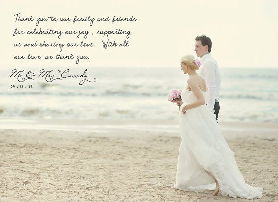 17 Best ideas about Wedding Thank You Wording – Thank You Cards After Wedding
