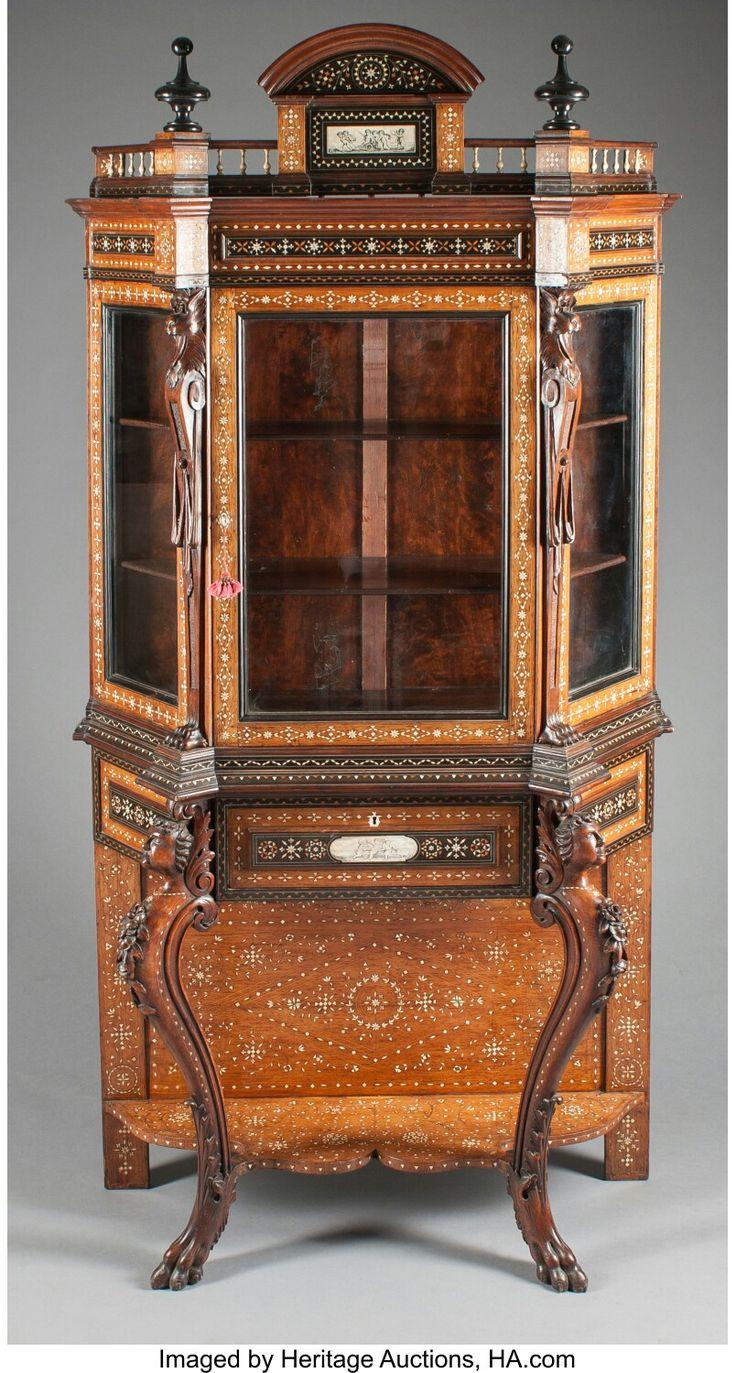 2193 best antique vintage furniture images on pinterest. Black Bedroom Furniture Sets. Home Design Ideas