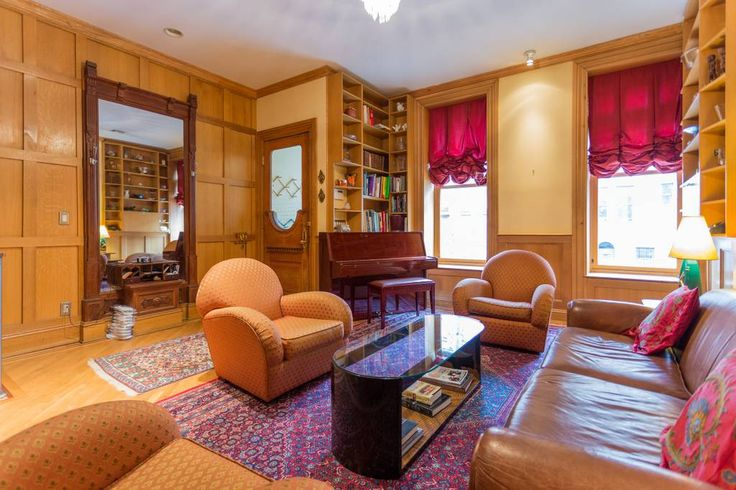 Entire home/apt in New York, US. Welcome to the Harlem Getaway!  This is a landmarked 1880s brownstone with every conceivable amenity and renovated to Architectural Digest standards.  High ceilings and large rooms, truly a unique home away from home. It is in the landmarked Mount...