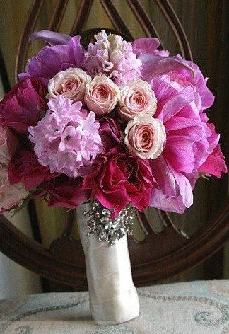 The Cinderella Bouquet  Set Availabale by whiteriver51 on Etsy, $425.00: Bridal Bouquets, Style, Color, Wedding Ideas, Wedding Flowers, Pink Bouquet
