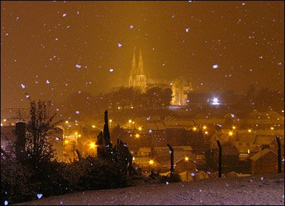 armagh in snowfall