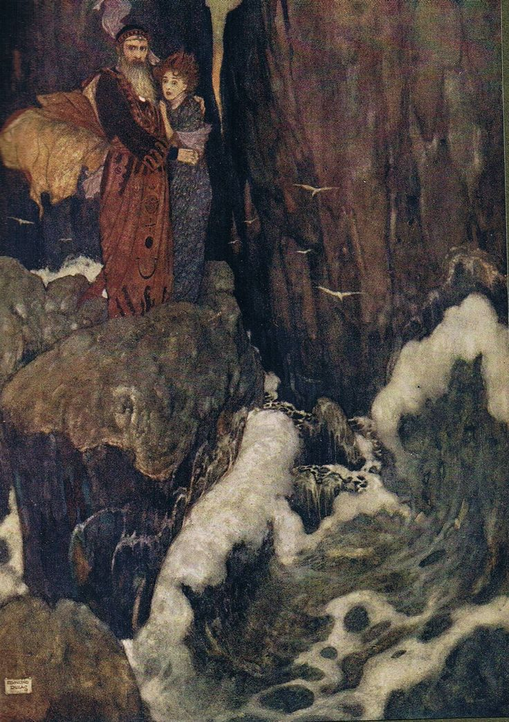 Miranda: O, the cry did knock; Against my very heart - Shakespear's Comedy of The Tempest, 1908