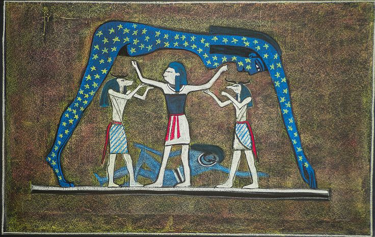 5th Grade: Ancient History and Mythology; Egypt: Nut and Geb
