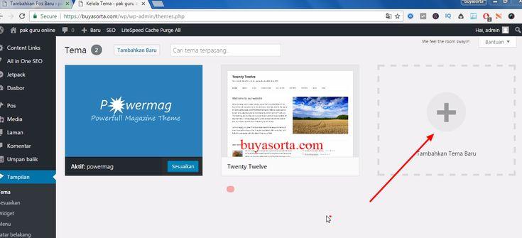 cara mengganti tema wordpress   Pada artikel sebelumnya saya sudah menjelaskan cara install wordpress di cpanel hosting, selanjutnya adalah mendesain web kita dengan tema yang bagus dan keren. Theme wordpress merupakan desain dari halaman blog pada wordpress. Desain tema dari wordpress ini...