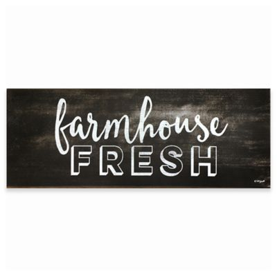 "David Burke Cook N Comfort ""Farmhouse Fresh"" Memory Foam 19.6-Inch x 55-Inch Kitchen Mat - Bed Bath & Beyond"