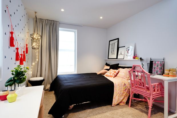 Dulux Zestaw Bedroom In A Box: A Very Sophisticated Teenage Room That Any Girl Would Love