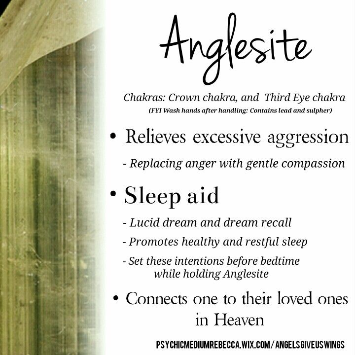 Anglesite crystal meaning