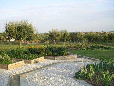 Záhrada a záhony - Vyvýšené záhony na pestovanie zeleniny