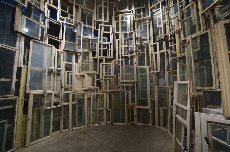 Chiharu Shiota.Sin titulo 2012 New York