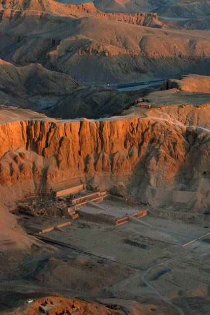 The Mortuary Temple of Queen Hatshepsut, Egypt