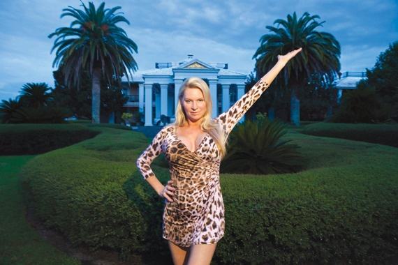 """The Queen of Versailles - What Will We Think of Next?     The question of whether """"self-denial"""" is a """"social responsibility"""" — particularly when it comes to rich so nouveau, they don't realize their appetites strike others as crude — is vividly brought to life in Lauren Greenfield's new documentary, The Queen of Versailles."""