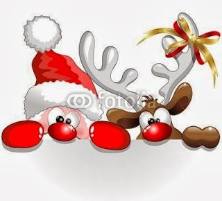 Cute and Funny Christmas Cartoon Characters!