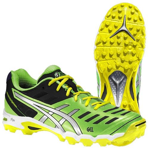 You've got to love the Asics Gel Typhoon 2 Men's Hockey Shoe - a lightweight, low-profile field hockey shoe built specifically to meet the demands of offensive players.