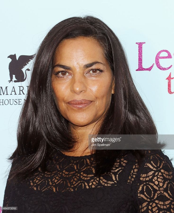 Actress Sarita Choudhury attends the 'Learning To Drive' New York premiere at The Paris Theatre on August 17, 2015 in New York City.